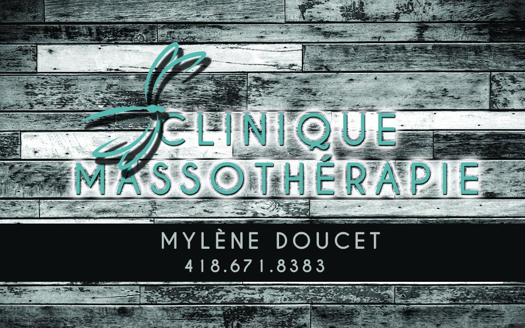 Profitez d'un massage à la Clinique de Massothérapie Mylène Doucet